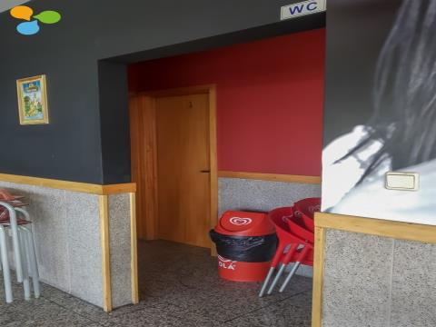 Café situado em Fânzeres