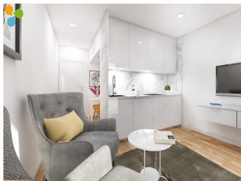 Apartamento T0 em Construção