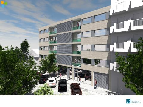 Apartamento T2 c/ varanda - Matosinhos Sul
