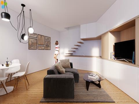 Apartamento T1+1 DUPLEX