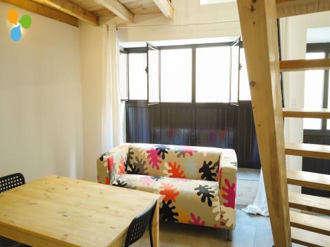 Arrendamento Apartamento T1 Duplex - Covilhã