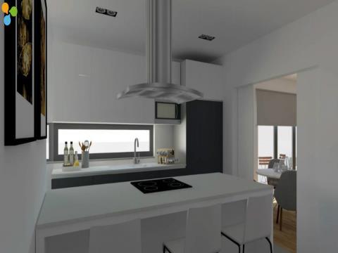 Apartamento T2 com duas suites, varandas e garagem à Estação de Metro  Parque Real  Matosinhos
