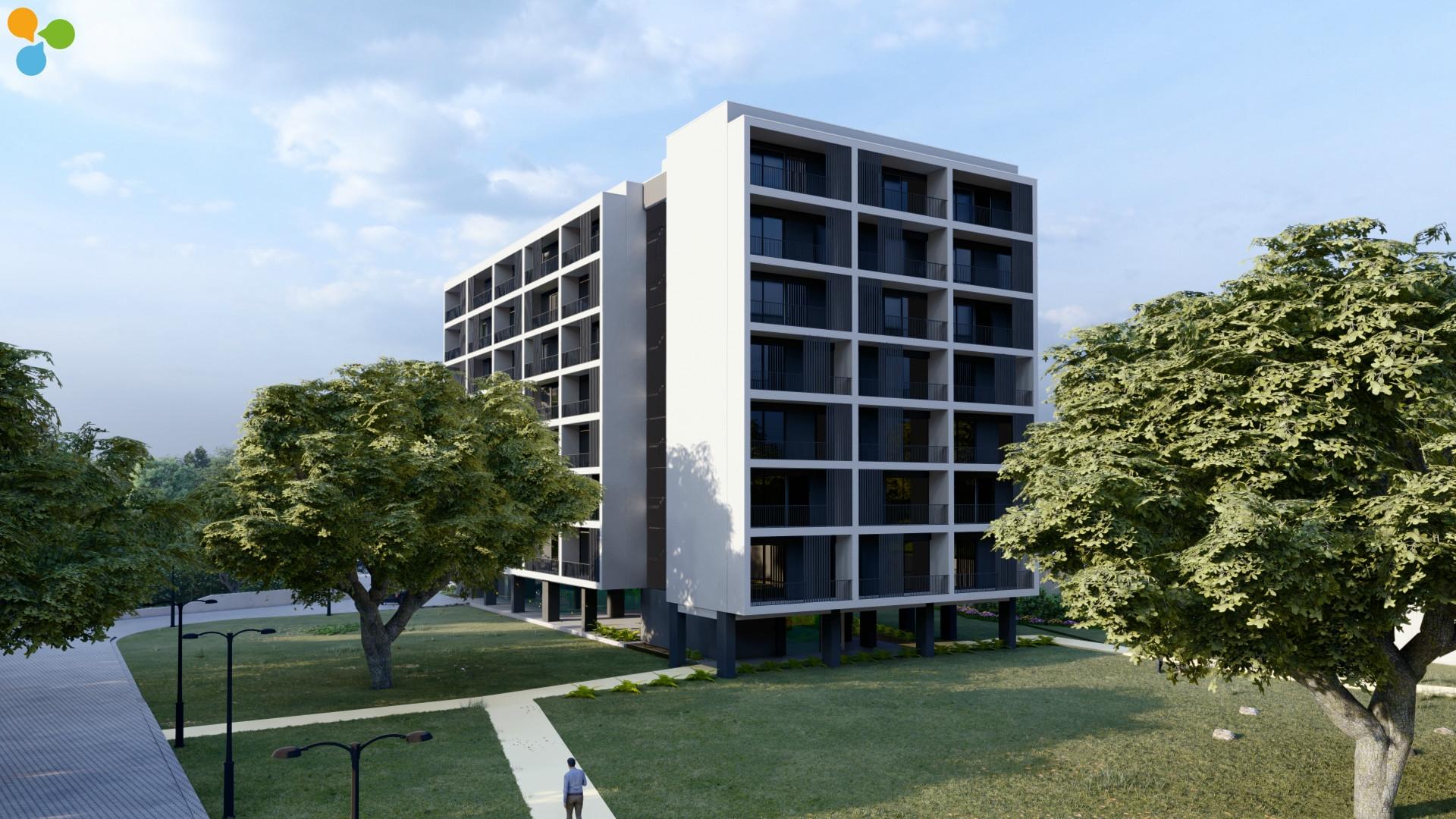 T1 Kit c/ varanda e garagem  Edifício  Parque dos Sobreiros junto à FEUP