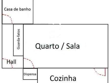 Estúdio T0 Mobilado e Equipado - Eiras, Coimbra