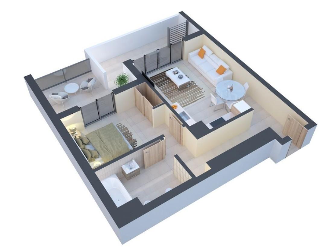 1-bedroom Apartment with SEA VIEW in Praia da Rocha