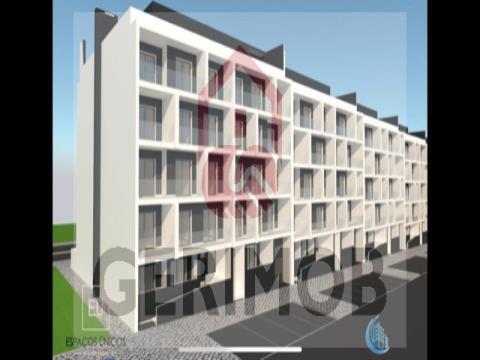 Appartements avec typologie T2 + 1 Montijo