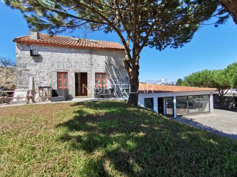 Small farm with 4000m2 in Touguinhó, overlooking the East River.