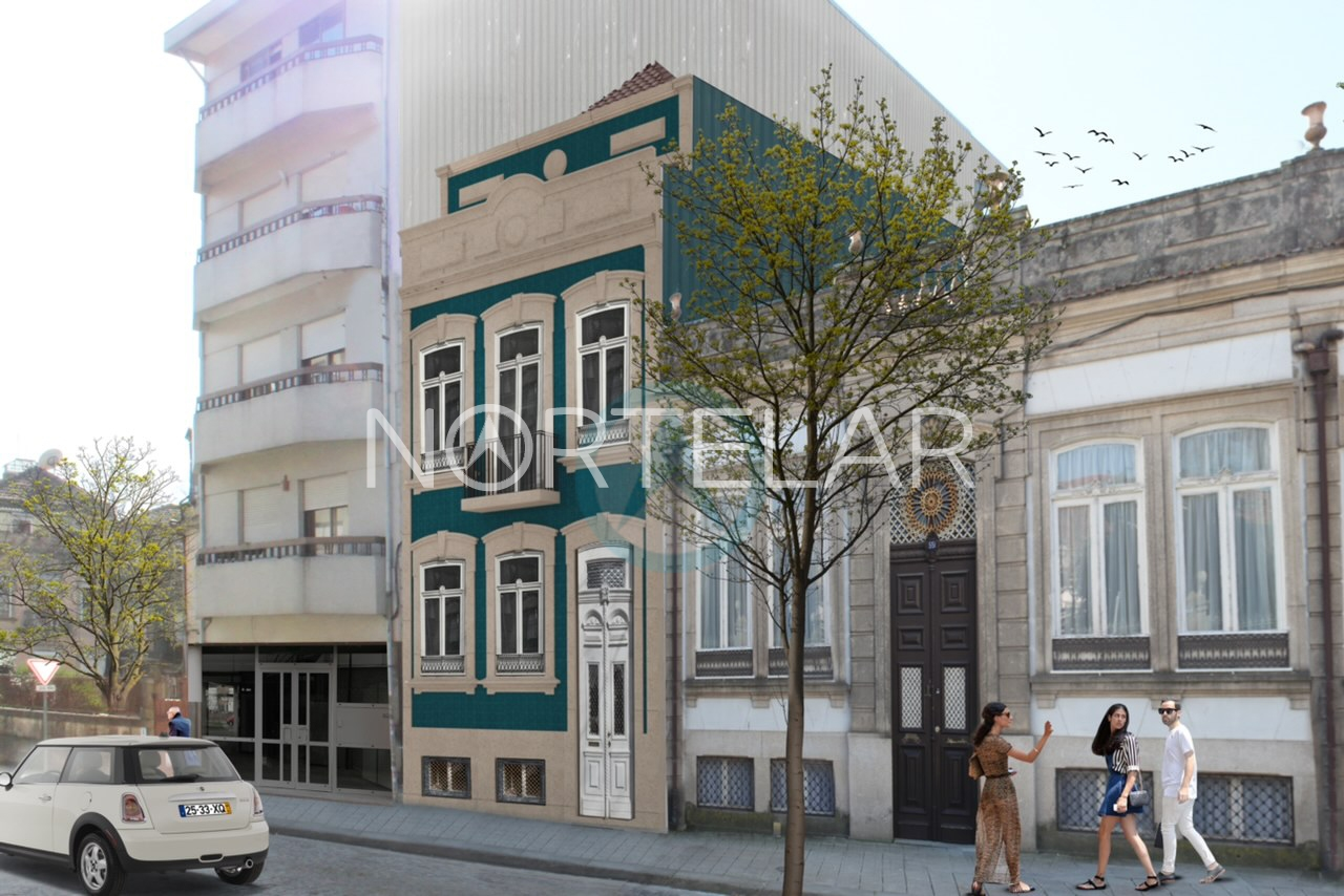 Duplex Apartment T1 NEW in Porto