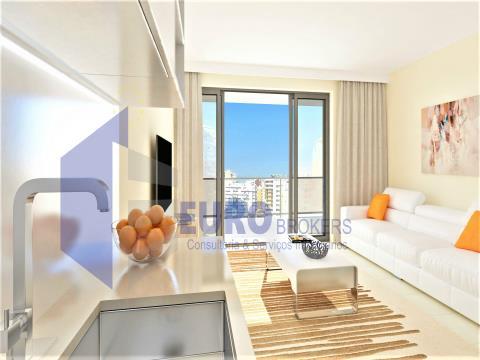 Apartamento T1 Novo em Condomínio de Luxo na Praia da Rocha