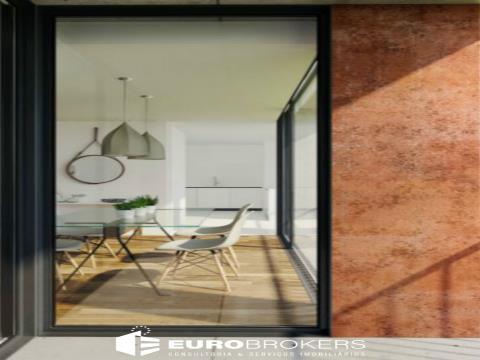 Apartamento T1 novo com varanda no Bonfim