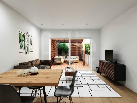 Apartamento T1 Beira-Mar c/ garagem