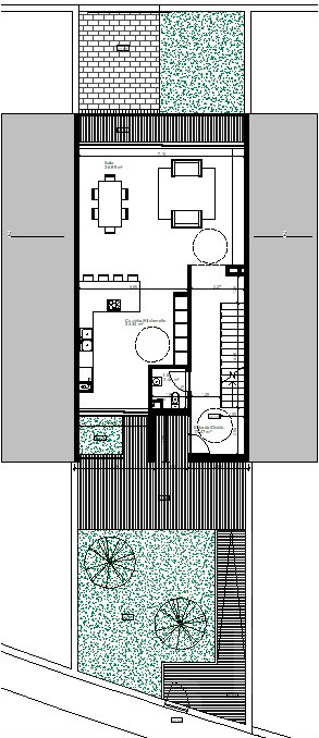 Terraced house T3