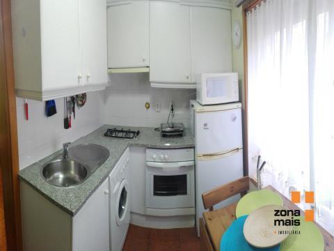 T1 - Circunvalação/Rua das Cegonhas - Mobilado e equipado