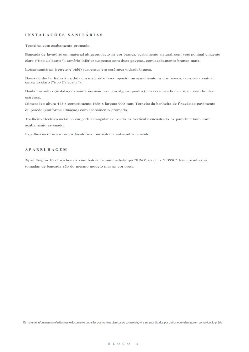 Fracção A4 - T2 - Bloco A - Bom Sucesso