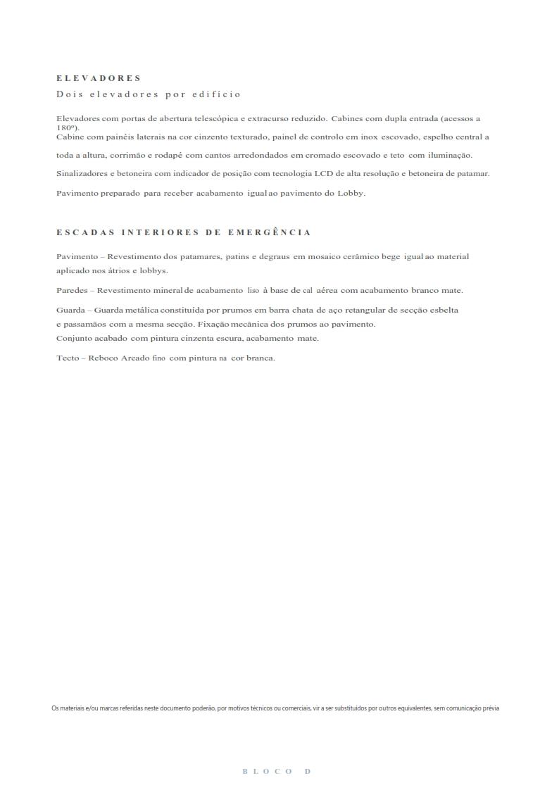 Fracção D9- Bloco D Piso 2 - Bom Sucesso