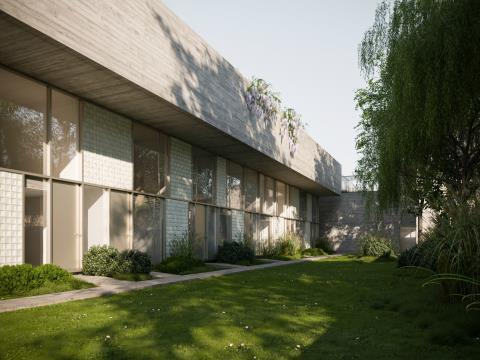 Unidade E - Casa Jardim - T4 Duplex - MGC720