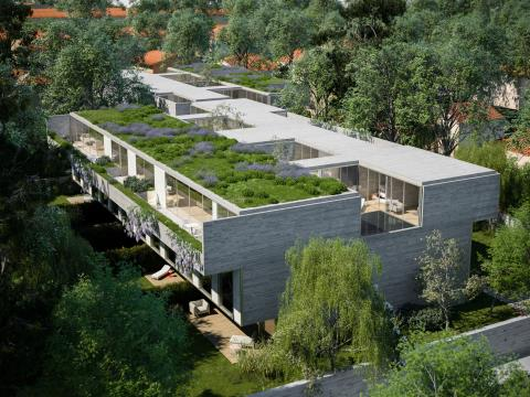 Unidade K - T4 Duplex - Casa Jardim - MGC720