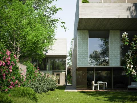 Unidade A - Casa Jardim - T4 Duplex - MGC720