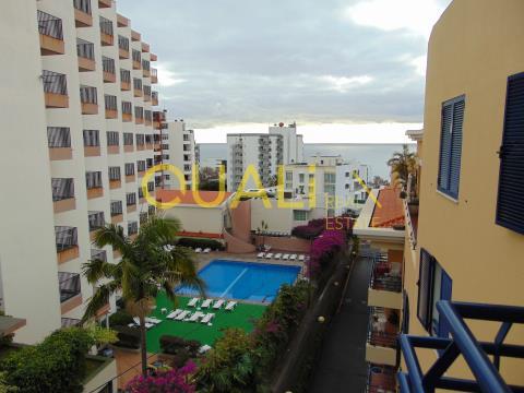 Apartamento T1, localizado na zona turística do Funchal - €160.000,00