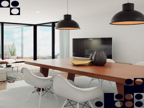 Apartamento T2 Novo - Vistas da Ria