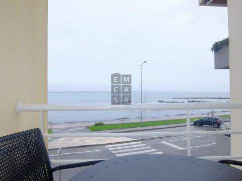 Apartamento T1 na Torreira com vista para a ria