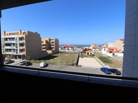 Novo Apartamento T2 junto à Praia, Poente e Vista Mar em Esmoriz