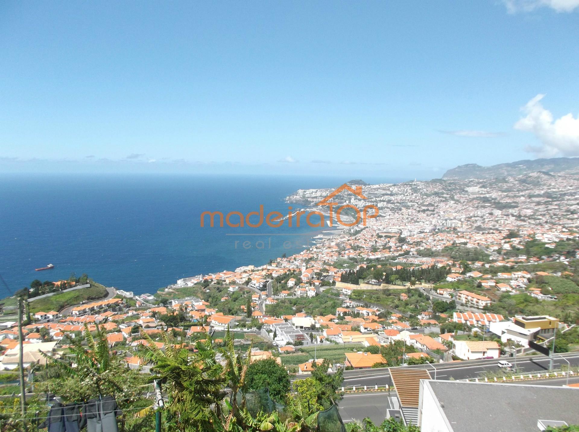 Terreno, terreno para construção, terreno com vista mar, Funchal, São Gonçalo,