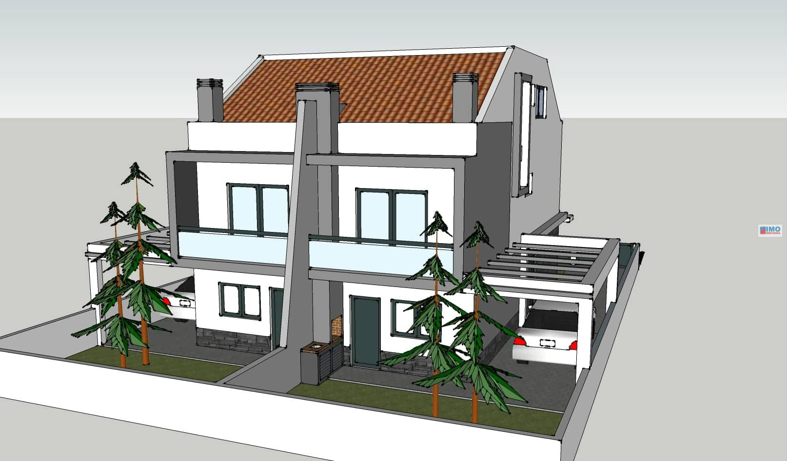Semi-detached house T3+1