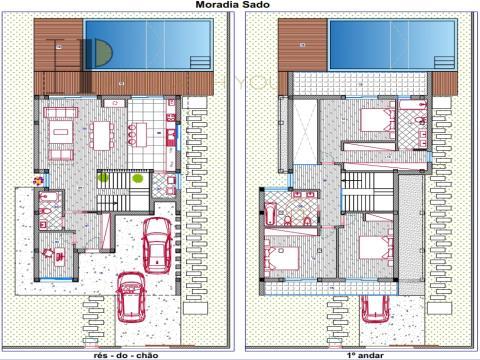 SADO - Maison V3+1 – lignes droites