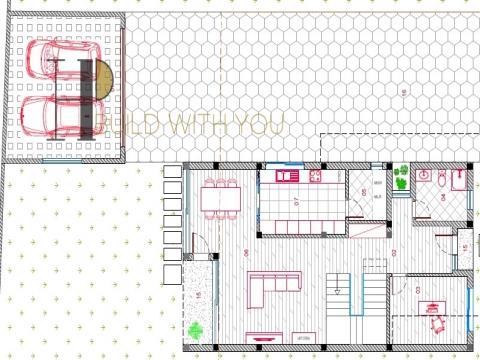SAFIRA - Moradia T3+1 em 2 pisos e garagem fechada - contemporânea