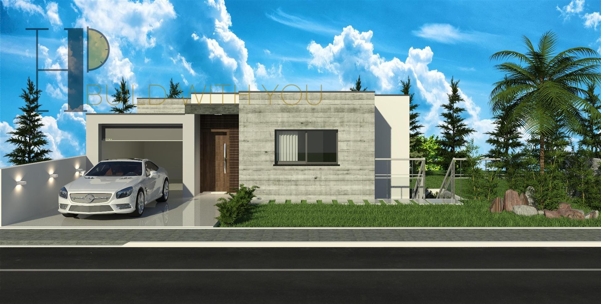 Implex G - Moradia T3  – ideal em terrenos inclinados