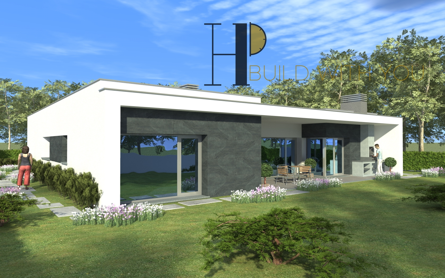 PLANALTO - Maison V3+1, plain pied - Contemporaine