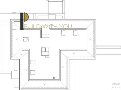 ÓMEGA - Moradia T3+1 térrea c/ aproveitamento de sótão