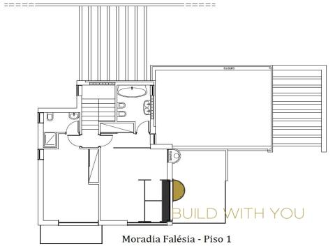 FALÉSIA - Detached 3 floors house – straight lines