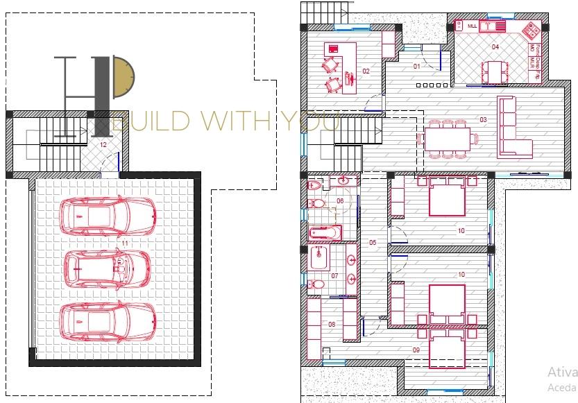 GRANADA - Ground detached house 3+1 bedroom