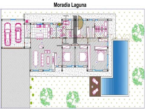 LAGUNA - Maison V4, plain pied - Contemporaine
