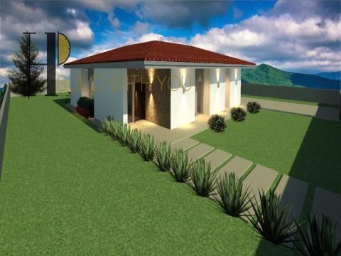 BUÇACO - Moradia T3 térrea – arquitetura clássica