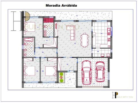 ARRÁBIDA - Maison V3, plain pied - Contemporaine