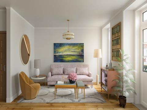 Spacious and luminous T3 in the lively district of Chiado near Praça Luís de Camões - Key in hand