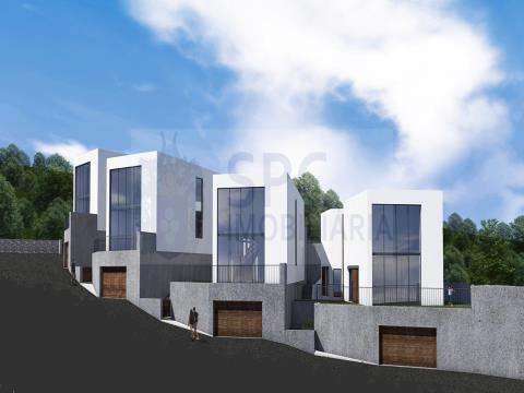 Plot in Alcobaça - for Sale - a project approved for 4 houses CISTER HOUSES PROJECT