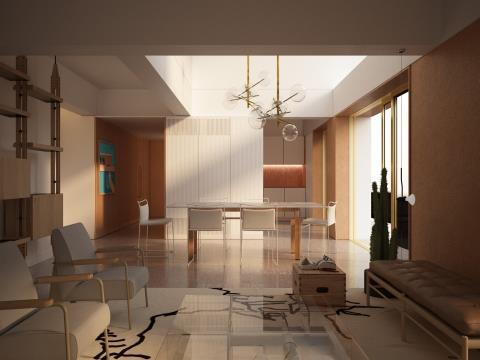 Empreendimento Vale do Pereiro Deslumbrante e Caprichado Apartamento T3 - Òptima localização Central
