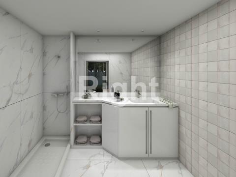 Novo apartamento T2 com 93m2 em Campolide