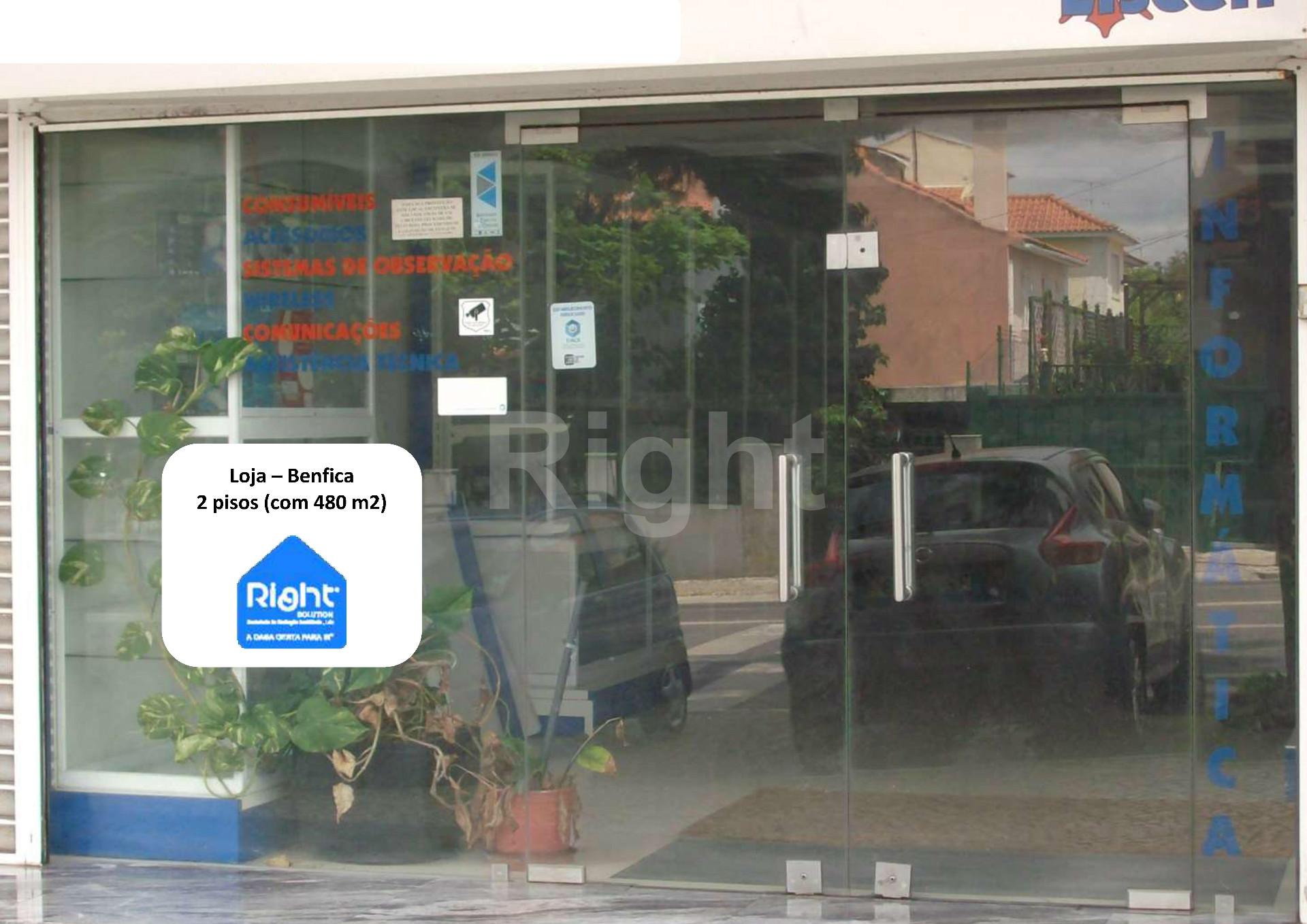 Loja para clínica em Benfica