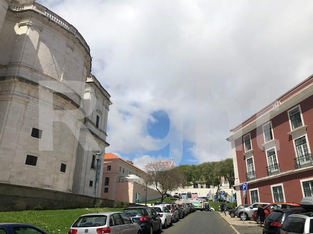Prédio para reabilitar junto ao Panteão Nacional