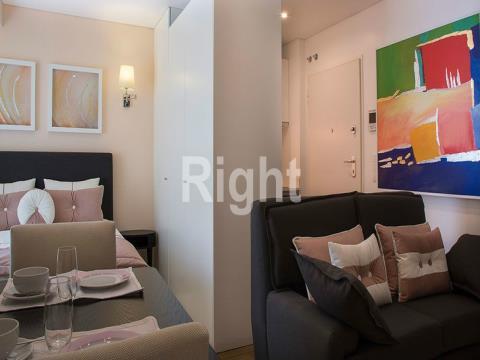 Apartamento T0 mobilado e equipado nas Avenidas Novas