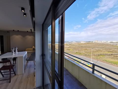 Apartamento T2 vista mar, para arrendar em Vila do Conde