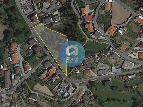 Terreno con 4.102 m2 en Atães, Guimarães. Insertado en zona urbanizable.