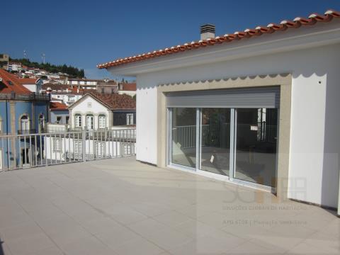 venda t2 terraço novo