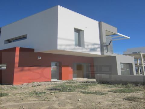 moradia em construção
