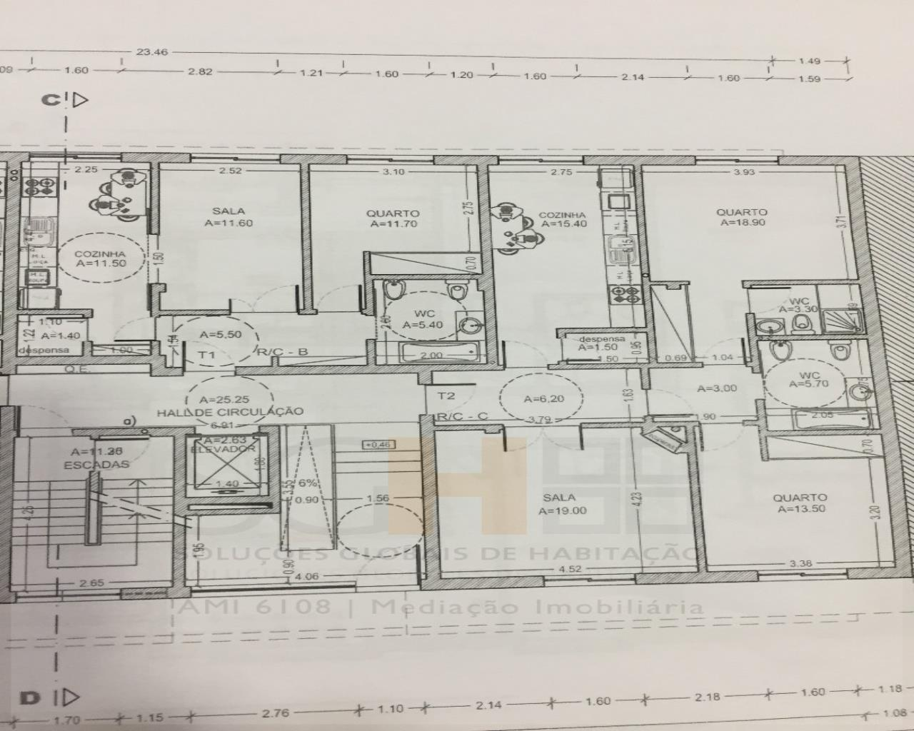 Wohnung 2 Schlafzimmer, Castelo Branco, Castelo Branco